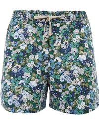 Uniqlo - Liberty Print Drawstring Shorts - Lyst