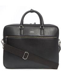 Sandqvist - Dag Leather Briefcase - Lyst