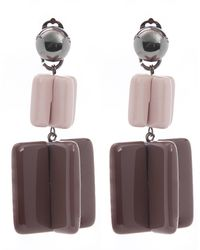 Diana Broussard - Jesse Large Lego Mood Clip-on Earrings - Lyst