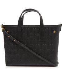 Liberty - Mini Marlborough Cross-body Tote Bag In Embossed Leather - Lyst