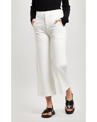 Citizens of Humanity - Eva Utility Crop Jeans - Lyst