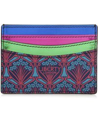 Liberty - Travel Card Holder In Stars Print - Lyst