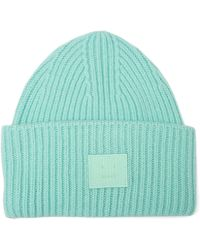 2ac5613a295 Acne Studios - Pansy S Face Wool Beanie Hat - Lyst