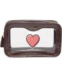 Anya Hindmarch - Rainy Day Heart Makeup Pouch - Lyst