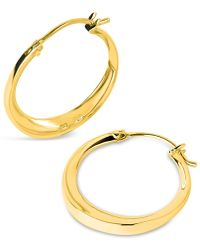 Dinny Hall - Gold Vermeil Signature Small Hoop Earrings - Lyst
