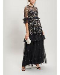Needle & Thread - Dusk Floral Maxi-gown - Lyst