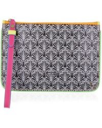 Liberty | Neon Wristlet In Iphis Canvas | Lyst