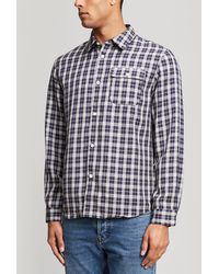 A.P.C. - Sterling Check Shirt - Lyst