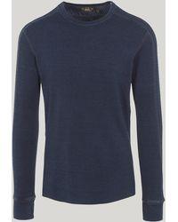 RRL - Henley Long-sleeved T-shirt - Lyst