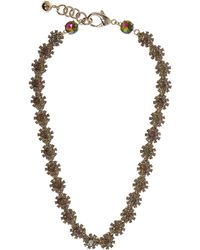 Lulu Frost - Beam Crystal Necklace - Lyst