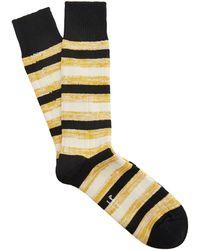 Paul Smith - Turner Stripe Chunky Socks - Lyst