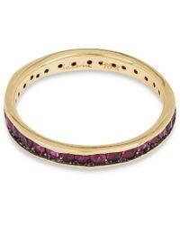 Satomi Kawakita Gold Absolute Ruby Ring