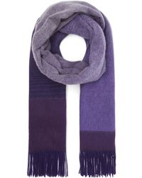 Paul Smith - Ombré Wool And Cashmere Scarf - Lyst
