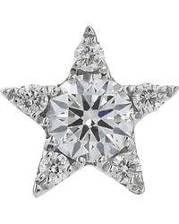 Maria Tash - 5.5mm Diamond Star Threaded Stud Earring - Lyst