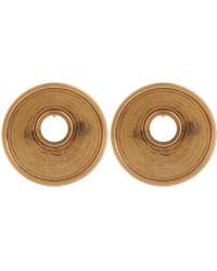 Marni - Monile Oversized Disc Clip-on Earrings - Lyst