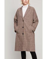 MASSCOB - Berkley Check Coat - Lyst