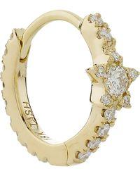 "Maria Tash - 5/16"" Diamond Star Eternity Earring - Lyst"