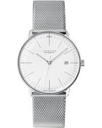 Junghans - Stainless Steel Milanaise Max Bill Automatic Watch - Lyst