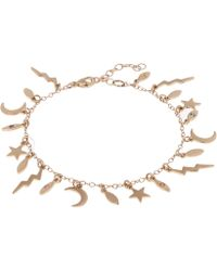 Andrea Fohrman - White Diamond And Gold Element Bracelet - Lyst