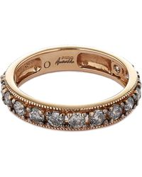 Annoushka - 18ct Rose Gold Dusty Diamonds Eternity Ring - Lyst