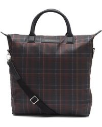 Want Les Essentiels De La Vie - Ohare Tartan Shopper Tote Bag - Lyst