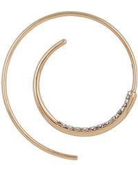 Maria Black - Gold Diamond Spiral Earring - Lyst
