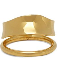 Maria Black - Gold-plated Midnight Ring - Lyst