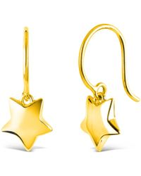Dinny Hall - Gold Vermeil Talitha Statement Earrings - Lyst