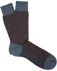 Pantherella - Blenheim Birdseye Socks - Lyst