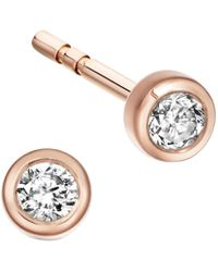 Astley Clarke - Icon Nova Diamond Stud Earrings - Lyst