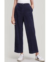 Folk - Wide Leg Cord Trousers - Lyst