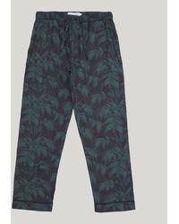 Desmond & Dempsey - Byron Print Cotton Pyjama Trousers - Lyst