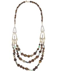 Alexis Bittar - Three Layer Multi-bead Necklace - Lyst