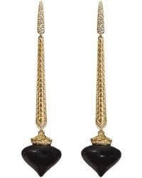 Annoushka - Touch Wood Ebony Drop Earrings - Lyst