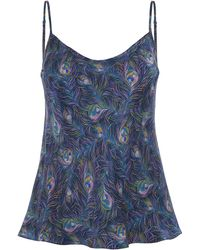 Liberty - Orion Silk Camisole - Lyst