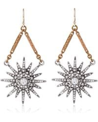Lulu Frost - Gold-tone Radiant Drop Earrings - Lyst