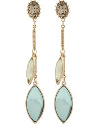 Lulu Frost - Olympic Leaves Drop Earrings - Lyst