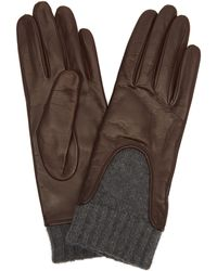Portolano - Nappa Leather Gloves - Lyst