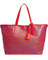Liberty - Marlborough Tote Bag In Iphis Canvas - Lyst