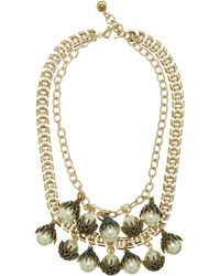 Lulu Frost - Antique Gold-plated Paloma Necklace - Lyst