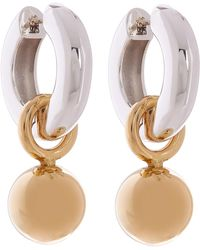 AGMES - Silver And Gold Vermeil Sonia Earrings - Lyst