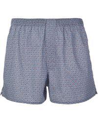 Liberty - Juno Tana Lawn Cotton Boxer Shorts - Lyst