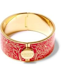 Liberty - Imran Solid Thick Cuff - Lyst