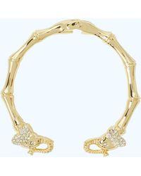 Lilly Pulitzer - Glam Elephant Bracelet - Lyst