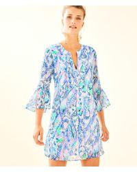 Lilly Pulitzer - Elenora Silk Dress - Lyst
