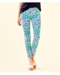 "Lilly Pulitzer - 29"" South Ocean Skinny Jean - Crop - Lyst"