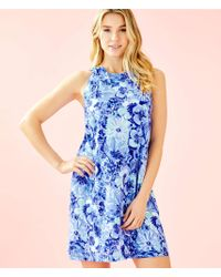 0a641113bcd4d3 Lilly Pulitzer Shay Dress in Blue - Lyst