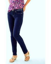 "Lilly Pulitzer - 31"" South Ocean Skinny Jean - Lyst"