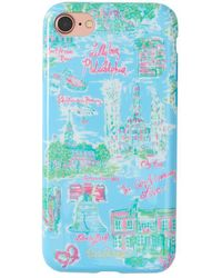 Lilly Pulitzer - Iphone 7 Cover - Philadelphia - Lyst