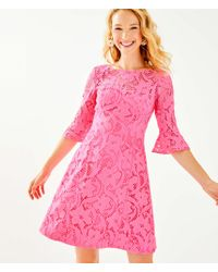 Lilly Pulitzer - Allyson Lace Dress - Lyst